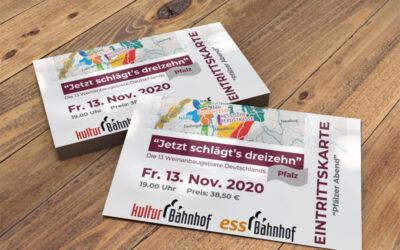 """""""Jetzt schlägt's dreizehn"""" – Pfälzer Abend am 13.11.2020"""