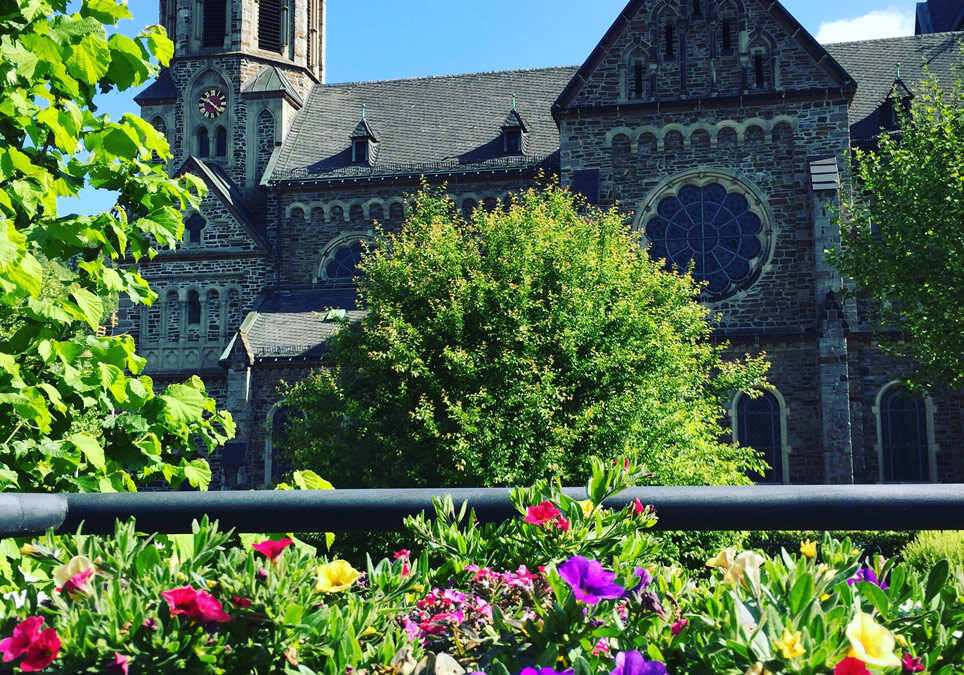 Kirchenführung mit Weinverkostung